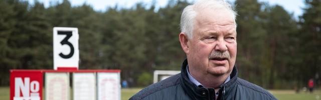 Suri endine vasaraheite maailmarekordimees ja kahekordne olümpiapronks Jüri Tamm