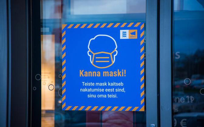 Saaremaa tegi ettepaneku, et maskita poekliente ei tohi teenindada