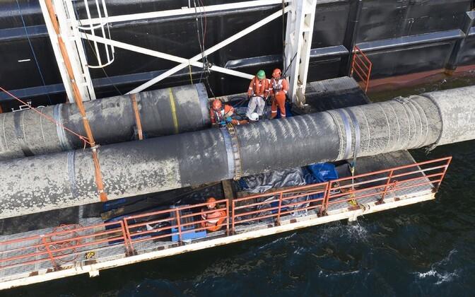Peskov: Venemaa ei nõustu USA-Saksa Nord Stream 2 kokkuleppe sõnastusega