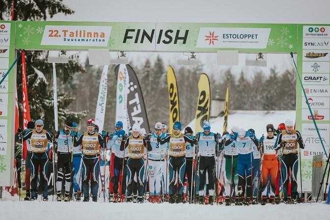 Tallinna suusamaratoni peakorraldaja: võistlus toimub kindlasti