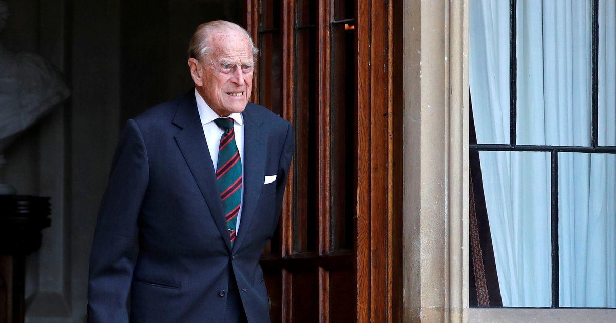 Buckinghami palee: prints Philipi haigus allub ravile