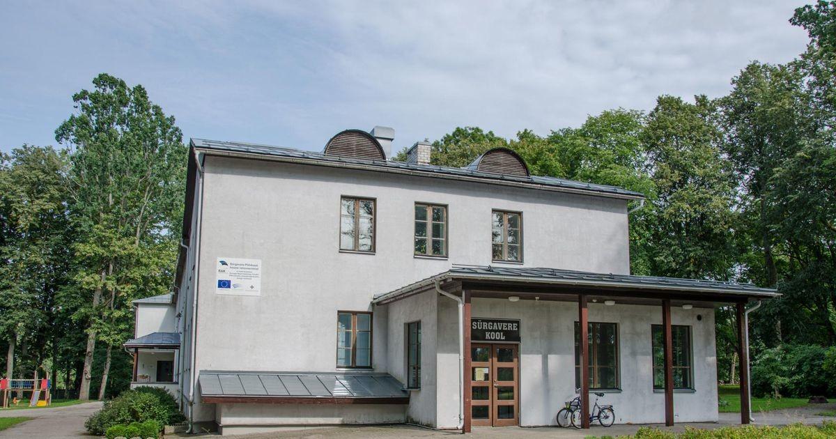 Positiivne koroonaproov sulges Sürgavere kooli ja lasteaia