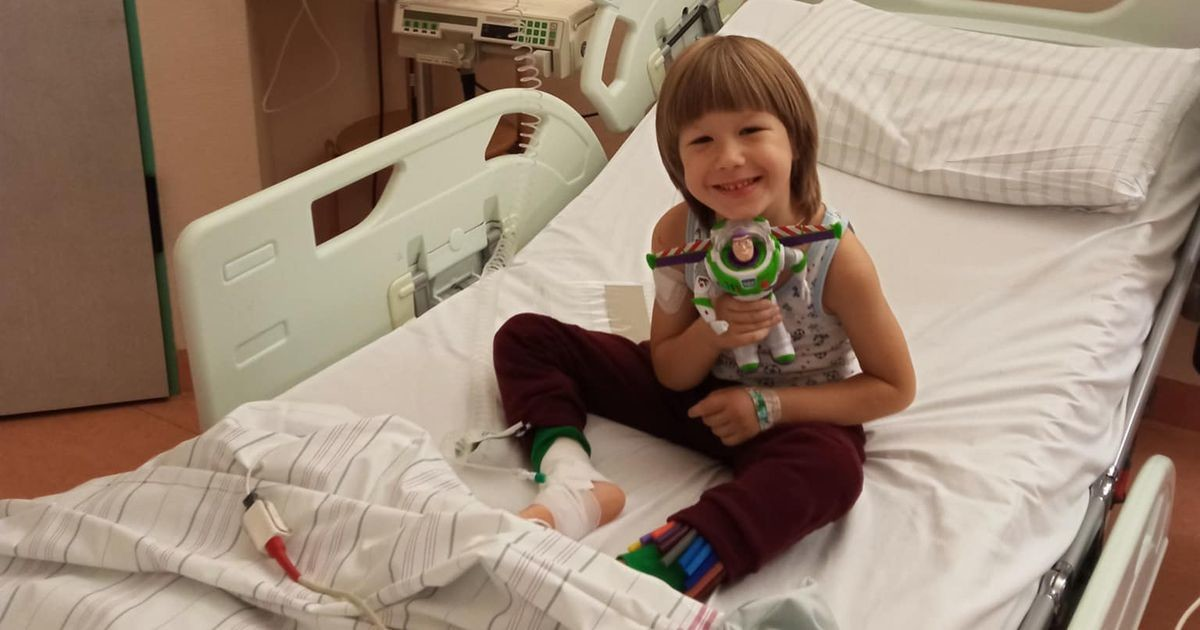 Vähiraviks 50 000 eurot vajanud väike Pavel pääses Saksamaale ravile