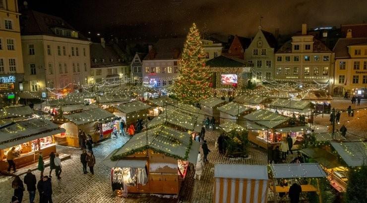 Koroonakriis lõhkus traditsiooni: tavapärast jõuluturgu Tallinnas tänavu ei toimu